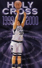 1999-00 COLLEGE OF THE HOLY CROSS CRUSADERS WOMEN'S BASKETBALL POCKET SCHEDULE
