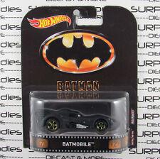 HOT WHEELS 2017 Retro Entertainment Case A 1989 Tim Burton's Batman BATMOBILE