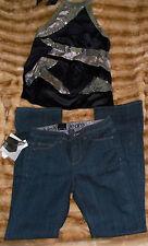 NWT Calvin Klein Shape/ Boot cut/ Reg Fit Denim Jeans - 4 x 32