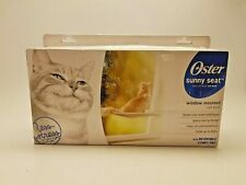 New listing Oster Sunny Seat Window-Mounted Ca 00004000 t Bed up to 50 lbs. Reversible Pad