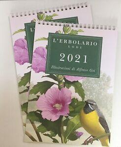 CALENDARIO L'ERBOLARIO nuovo - Lotto n° 2 CALENDARI 2021