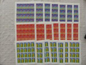 Europa CEPT San Marino, 140x postfrisch Jahr 2000 und 2002 in kpl Kleinbogen