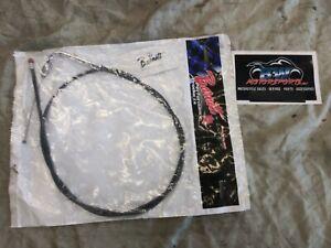 """Barnett 101-30-40017-08 Black Vinyl Idle Cable +8"""" for 1996-97 Harley FLH models"""