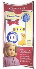 """American Girl KIT'S HAIRSTYLING SET for 18"""" Dolls Barrette Clip Kit Pin NEW"""
