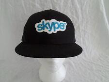 Skype Logo Baseball Cap Hat Snapback Trucker