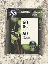 hp 60 combo pack black tri color ink