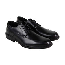 Unlisted by Kenneth Cole Mission Lace Up Mens Black Plain Toe Oxfords Shoes