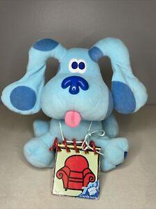 Original Blues Clues Plush Blue With Handy Dandy Notebook Eden 1998 Nickelodeon