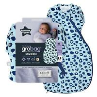 Tommee Tippee Grobag Newborn Snuggle Baby Sleep Bag 0-4m 1.0 Tog Abstract Animal