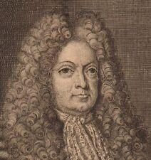 Portrait XVIII Johann Georg Mentzel Johann Georg Hieronymi Medecine