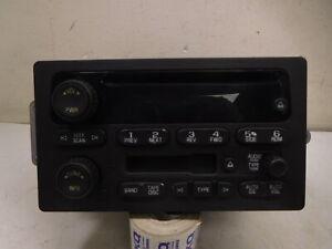 05 2005 GMC Yukon XL 1500 AM FM CD Cassette Radio Player Receiver OEM LKQ