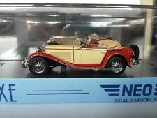 1:43 NEO Mercedes Benz Mannheim 350 S 1932 NEO43215