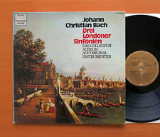 JC Bach Three London Symphonies Collegium Aureum Harmonia Mundi 1C 065-99 759 NM