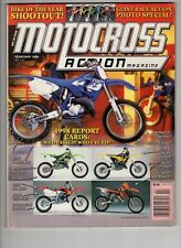 Motocross Action Magazine Feb 1998 Giant Race Action Photo Special