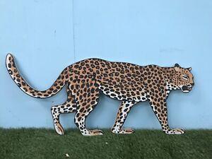 Large Leopard Safari Jungle Big Cat Party Decoration Display Prop Kids Nursery