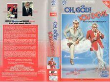 OH, GOD! YOU DEVIL - George Burns -VHS-PAL-NEW-Never played!-Original Oz release