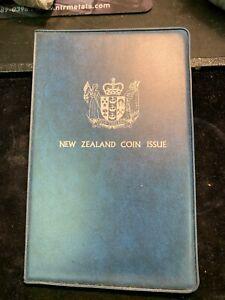 Original 1978 New Zealand 7-Coin Mint Set Beehive Dollar