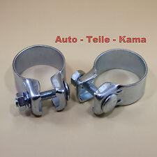2 x Auspuffschelle für Alfa Romeo , Audi , BMW , Citroen , Fiat , Ford Ø 54,5 mm