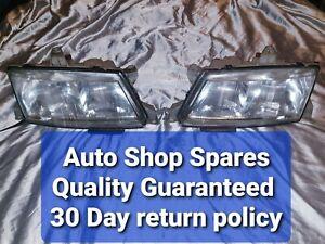Saab 900 Turbo 1998 Original Pair Headlights