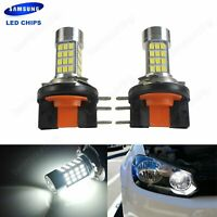 1 Pair H15 Bulb 45W LED Headlight DRL Light Lamp For VW Golf GTI MK6 MK7 2010-up