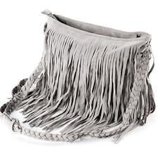US Stock Women Fringe Messenger Shoulder Tassel Bag Handbag Crossbody Bag Lady