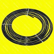 """3/8"""" 9.5mm Aluminium Fuel Oil Hard Line Hardline - 10 Meters 32.8 Ft Roll Black"""