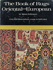 Antique Oriental European Carpets Rugs - Types Regions Techniques / Scarce Book