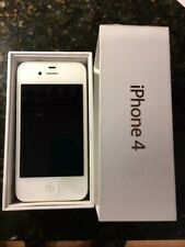 APPLE IPHONE 4S, USED, UNLOCKED, 8GB, WHITE, CHARGING CABLE - GREAT CONDITION