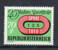 AUSTRIA MNH 1974 SG1721 25TH ANV OF FOOTBALL POOLS IN AUSTRIA