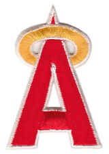 "1980'S CALIFORNIA ANGELS MLB BASEBALL VINTAGE 2.5"" TEAM LOGO HAT PATCH"