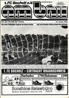 DFB-Pokal 83/84 1. FC Bocholt - Eintracht Braunschweig, 14.01.1984