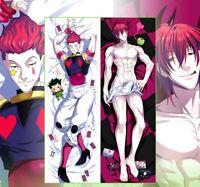 "Dakimakura Anime HUNTER×HUNTER Hisoka/&Illumi Hugging Body Pillow Case 59/"""