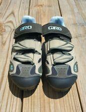 Giro Women's Reva Cycling Road Bike Shoes 38 6.5 White Silver Bolt