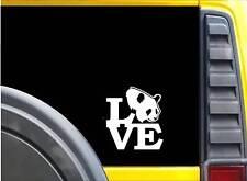 "Panda Love Sticker K607 6"" Vinyl decal"