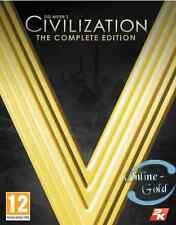 Sid Meier's Civilization V (5) Edition Complète Clé - Steam Jeu Carte [PC] [FR]