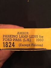 1960 Ford Parking Lamp Lens Left Hand Side