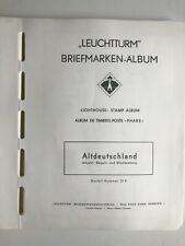 Vordrucke Briefmarken Altdeutschland von Leuchtturm