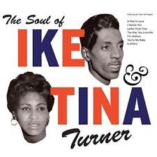 CD THE SOUL OF IKE & TINA TURNER I'M JEALOUS A FOOL IN LOVE I IDOLIZE YOU ETC