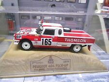 PEUGEOT 404 PICK UP RALLYE RAID PARIS DAKAR 1979 #165 Anore Thomson NOREV 1:43