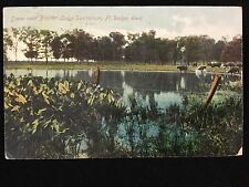 1910 Scene near Boulder Lodge Sanitarium, Ft. Dodge, Ia postcard