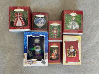 7 Pieces- Hallmark Keepsake Ornament Lot 7 ornaments w/ boxes
