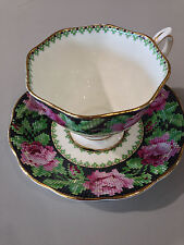 Royal Albert Needle point cup and saucer
