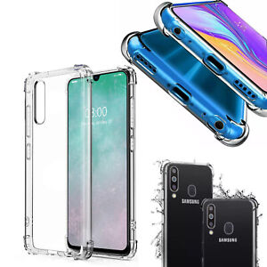 Case for Samsung Galaxy A50 A60 A70 Shockproof Silicone Protective Clear Cover