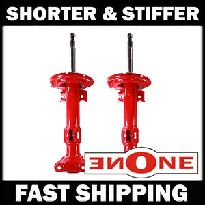 MK1 Shorter Front Shocks Struts 4 Lowered 08-14 Mercedes-Benz C250 C300 W204