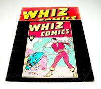 "Famous 1st Edition F-4 Whiz Comics #2 TREASURY-SIZE 10"" x 13"" 1974"