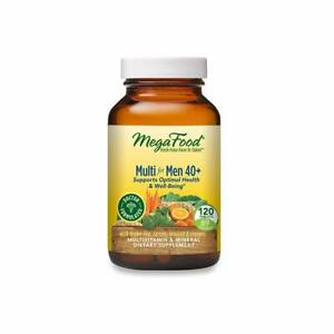 MegaFood Multi for Men 40+ - Supports Optimal Health & Well-Being - 120 Count