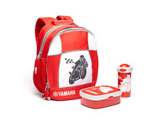 Oficial Yamaha Kids Moto Mochila Bolsa & Lunch Box Set