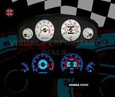 HONDA Civic mk6 MB2/MB6 SPEEDO Dash Lampadina Illuminazione UPGRADE KIT PLASMA Glow