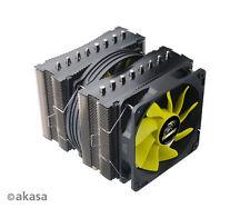 Akasa Venom Medusa CPU Cooler, Dual S-Flow Fans, 8 Heatpipes AK-CC4010HP01