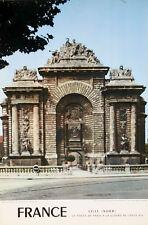AFFICHE TOURISME LILLE - NORD - PORTE DE PARIS